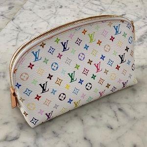 Louis Vuitton Multicolor Cosmetics Bag Pristine